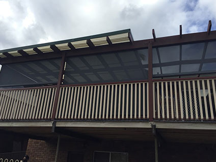 Outdoor Balcony Blinds in Sydney