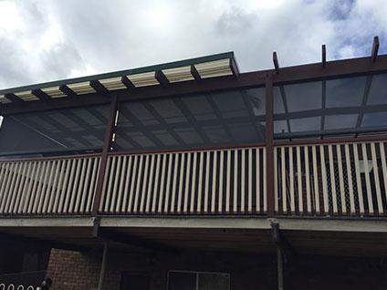 Outdoor Balcony Blinds in Sydney