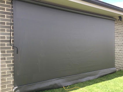 Outdoor Roll Up Blinds Sydney