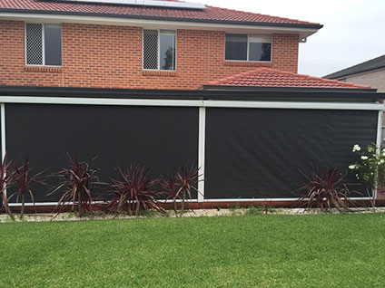 Outdoor Drop Awnings Sydney