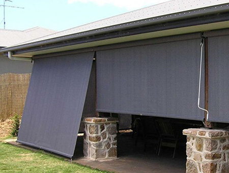 Drop Awnings (a.k.a. Crank Blinds)