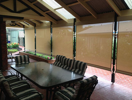Patio & Pergola Blinds