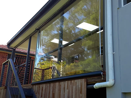 Outdoor Pergola Blinds Sydney