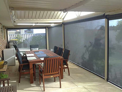 Outdoor Patio Blinds Sydney