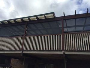Outdoor Urban blinds Sydney