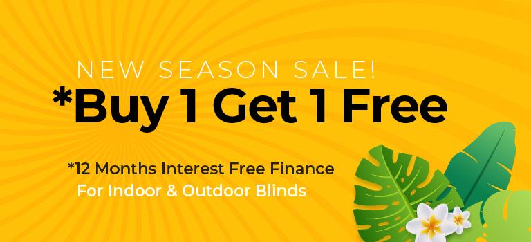 New Season Sale Buy 1 get 1 free